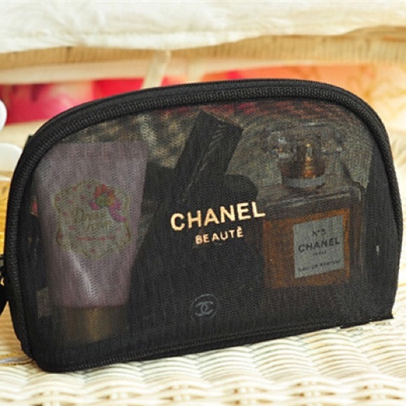 8083e46c8a74 CHANEL Accessories | Mesh Cosmeticmakeup Bag Price Firm | Poshmark