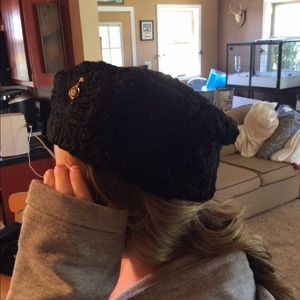 Vintage Sheep Fur Hat