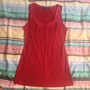 Red - The Limited Sleeveless Top - XS