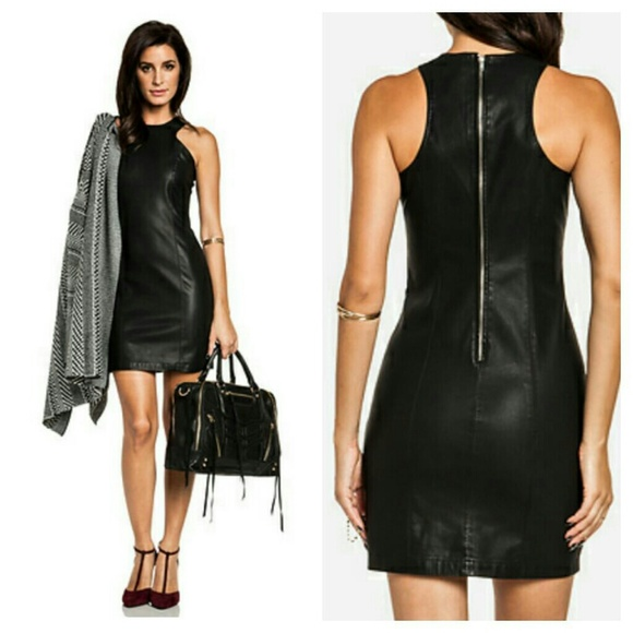 Leather Dresses And Skirts