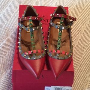 Valentino Shoes - Authentic Valentino Rockstud  flats