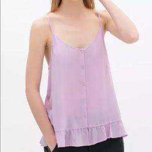 Zara Pink Tops size Medium