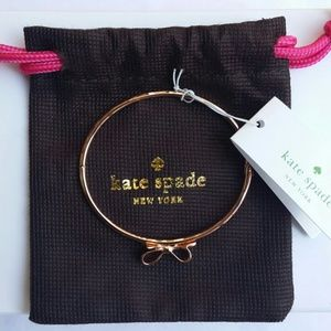 Kate Spade Rose Gold Love Notes Bangle Bracelet