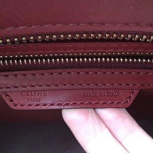 7a64ca3b0c67c Celine Bags - Celine shoulder mini luggage bag in Rust