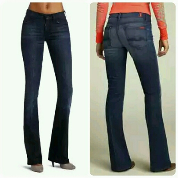 83% off 7 for all Mankind Denim - Seven Jeans_29/32 High Waist ...