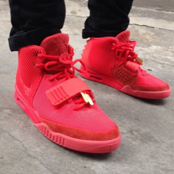 85a4fa4633248 Nike Air Yeezy 2 Red October