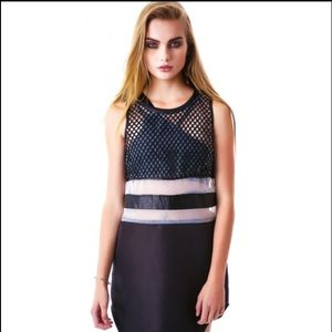 Meshed up thoughts dress!