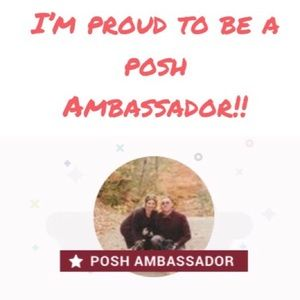 I'm a Posh Ambassador (aka suggested User )