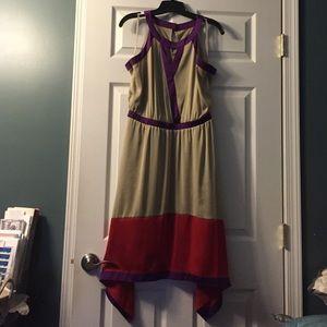 Color-Block Dress -- Worn Once