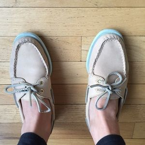 Mint authentic Sperry top sider boat shoes