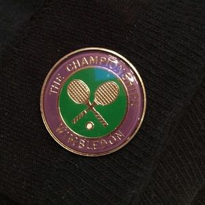 Wimbledon  Jewelry - Authentic Wimbledon tennis racket pin