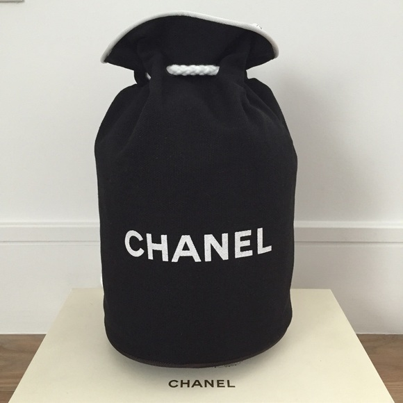 cheapest sale unequal in performance huge selection of Chanel Canvas Drawstring Bag