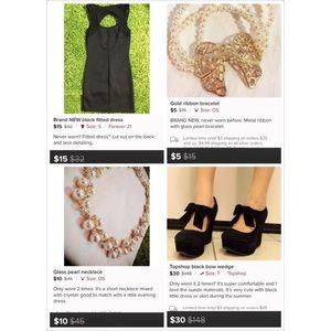 Other - 🎉Bundle=Dress+wedge+necklace+bracelet
