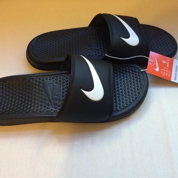 Nike Glir Kvinner Størrelse 8 Benassi Swoosh cFO39wUkBN