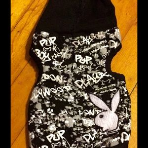 Playboy bunny graffiti hoodie and jacket