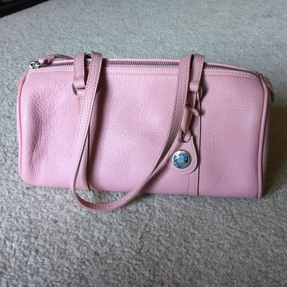Dooney & Bourke Handbags - Dooney & Bourke baby pink barrel bag