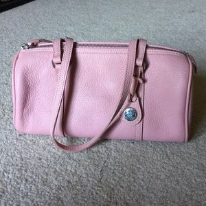 Dooney & Bourke baby pink barrel bag