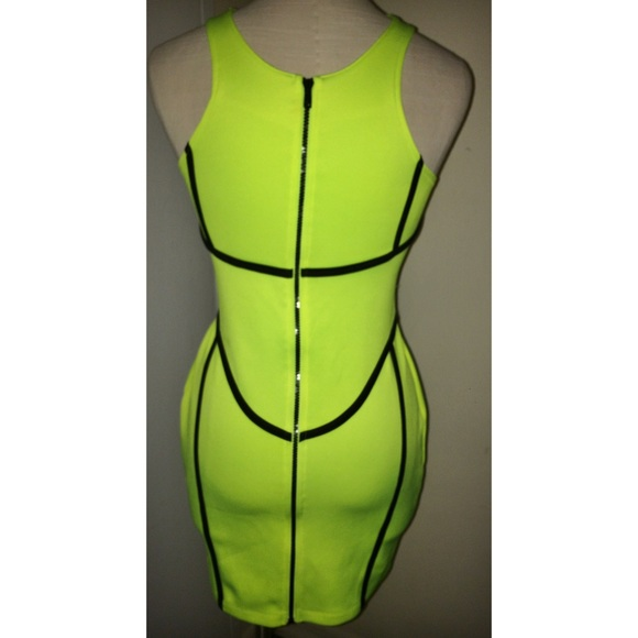 H&m Dresses Neon Scuba