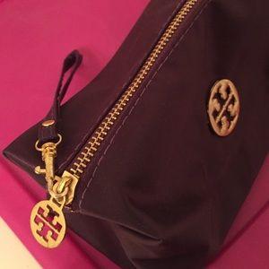 Tory Burch Bags - Tory burch deep purple makeup bag dd07cdd65bc01