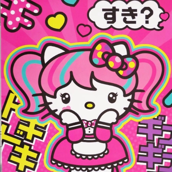 2214ce7673 Hello Kitty Other - 2013 SDCC Japanimation hello kitty poster.