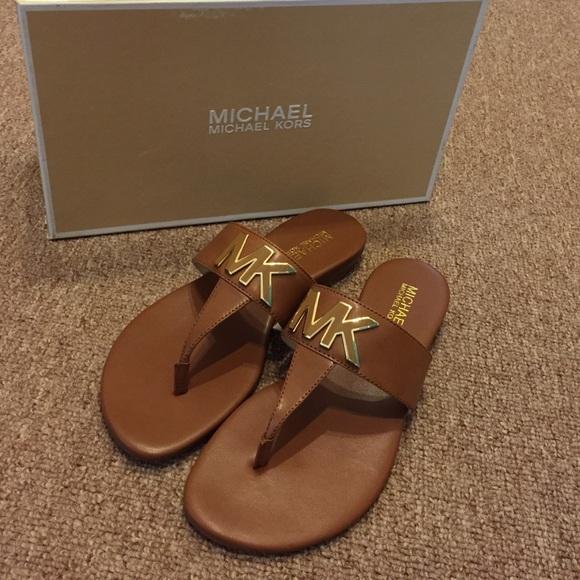 18fcfc83647b MK Hayley Thong Sandals NIB