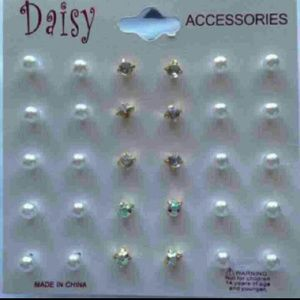Unknown Jewelry - Set Of 15 Pairs Of Stud Earrings!