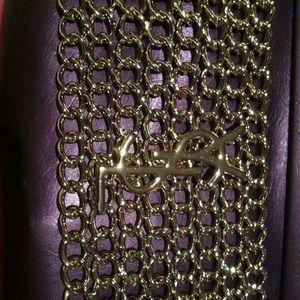 93df4487ef65d1 Yves Saint Laurent Jewelry - Vintage Yves Saint Laurent gold bracelet