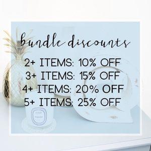 Discounts!
