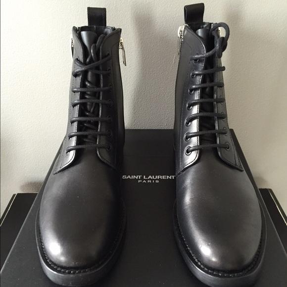 219b29a8697 Saint Laurent Shoes | Ranger Boots 95 New In Box | Poshmark