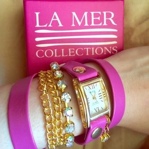  La Mer Collections - Wrap Watch 