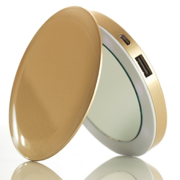 61 Off Other Led Light Compact Mirror Amp Phone Charger