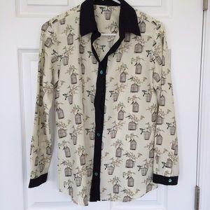 Cage Print Shirt