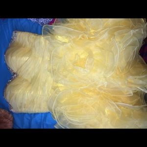 Dresses & Skirts - Formal yellow Prom/ Homecoming dress