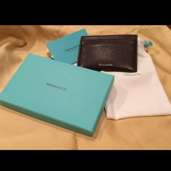 fca599d6f7 Tiffany & Co. Other | Tiffany Co Leather Credit Card Holder | Poshmark