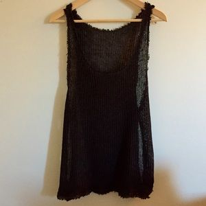 Urban outfitters knitted tank. I took of the tag.