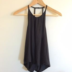 Urban outfitters brand silence and noise tank.