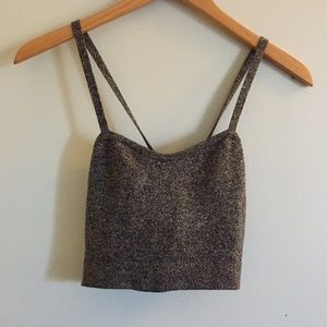 American apparel cropped top.