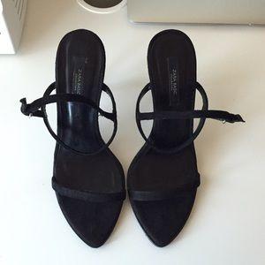 Zara basic thin heels.