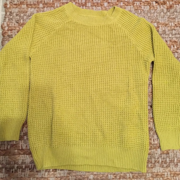 50% off Forever 21 Sweaters - Yellow-green sweater from Jennifer's ...