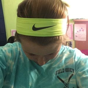 Nike Accessories - Nike neon yellow head band