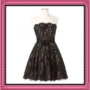 NWT Robert Ridriguez black lace party dress