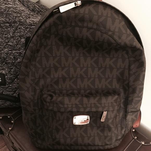 4a666545bd38 Michael Kors Jet Set Backpack 100% Authentic. M_55305e7e9818295782000791
