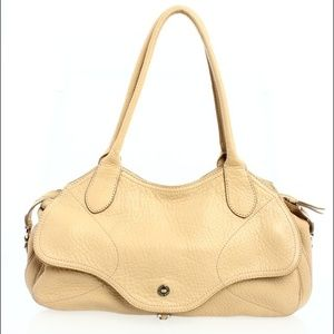 Cole Haan tan leather bag!