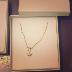 Accessories - Anchor 16 inch Dainty Necklace !!!:)