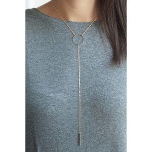 Jewelry - Golden Tassel Necklace