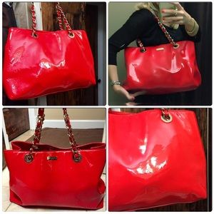 2fef469aa5b0 kate spade Bags - Red patent leather Kate Spade Helena Bag