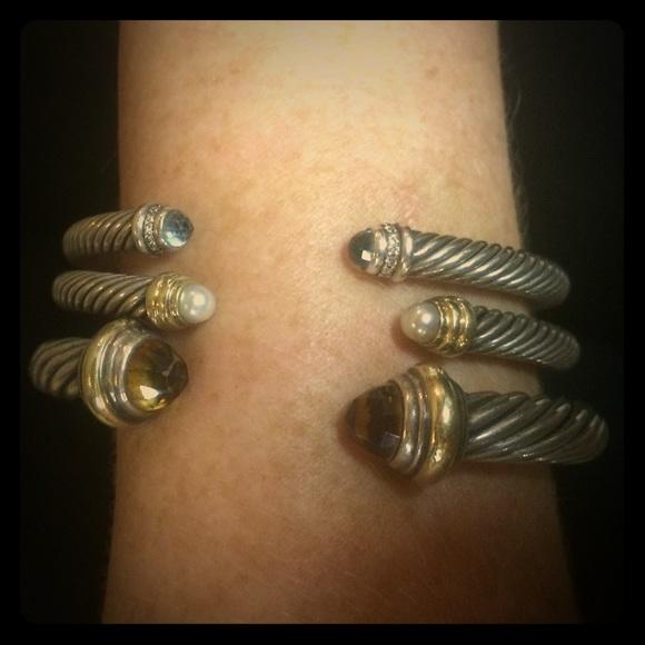 David Yurman Jewelry Cable Bracelet 7mm Citrine Poshmark