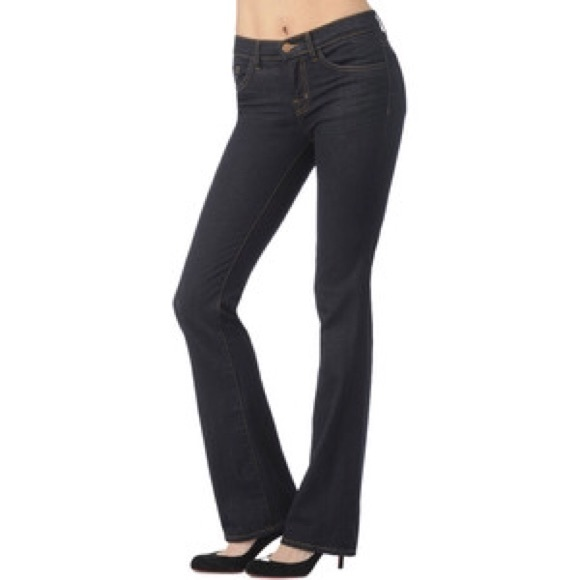 91% off J Brand Denim - J brand Slim leg Boot cut jeans Mid-Rise ...