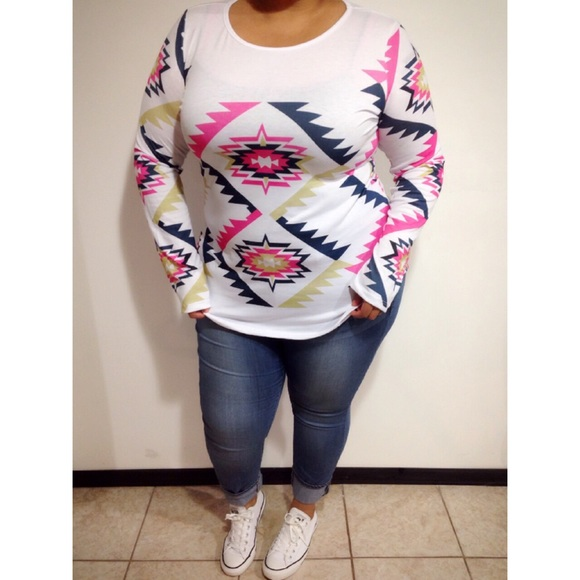 Tops - Super Comfy Tribal Top