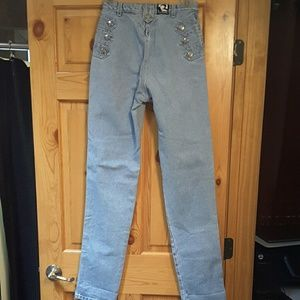 Vintage Denim - Rocky Mountain vintage studded jeans late 80's